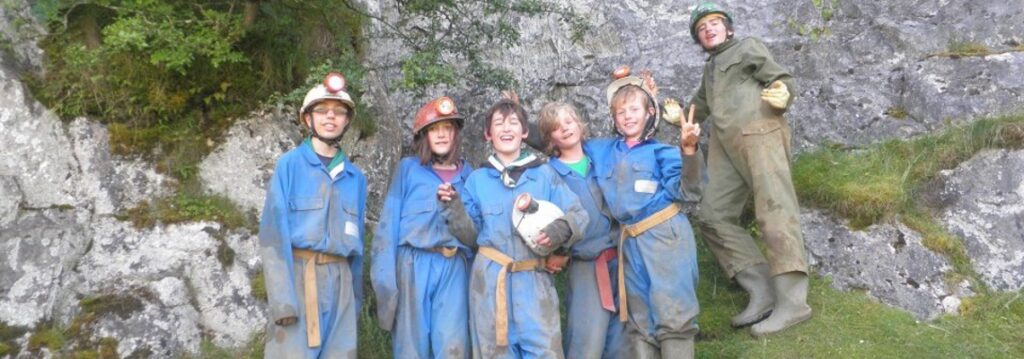 Scouts Caving